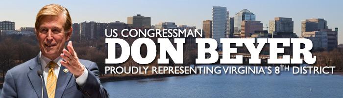 U.S. Congressman Don Beyer